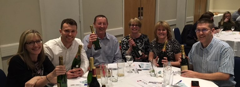 Pure's annual charity quiz night for Essex businesses raises £1281 for two local charities