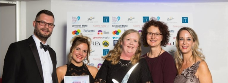 Congratulations to The Maids Head Hotel – Best Employer winners at the Norfolk Business Awards 2018