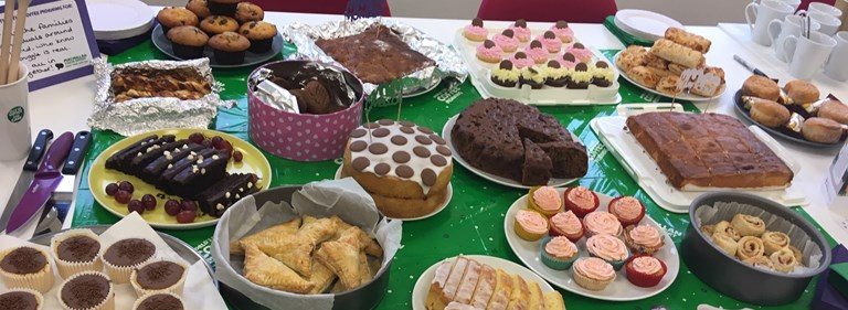Pure takes part in Macmillan's World's Biggest Coffee Morning