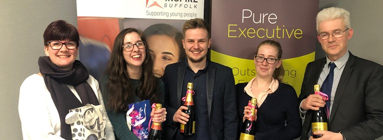 Pure's charity quiz in Ipswich raises over £2000 for Inspire Suffolk